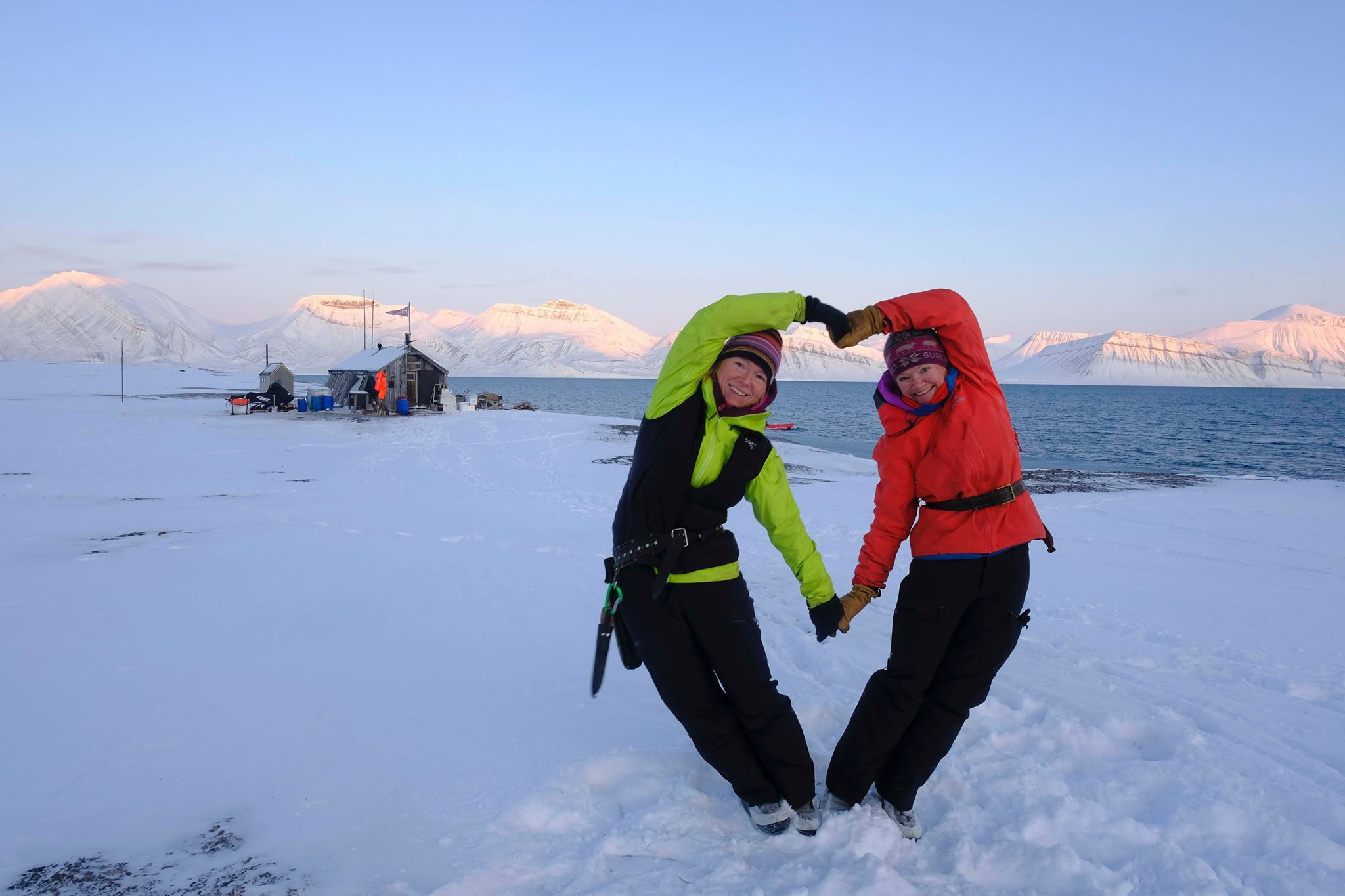 Sunniva-Sorby-And-Hilde-Falun-Strom-In-The-Artic