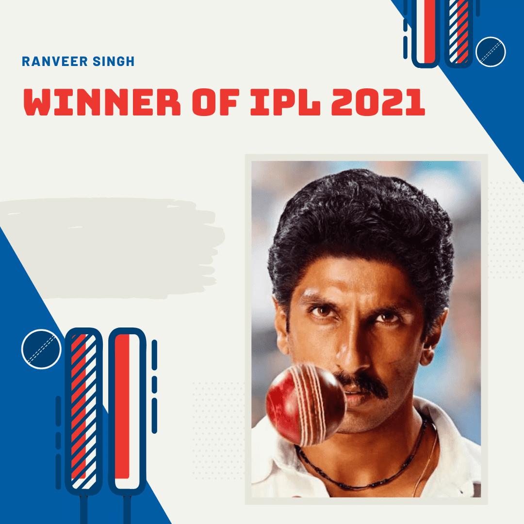 Winner Of IPL 2021